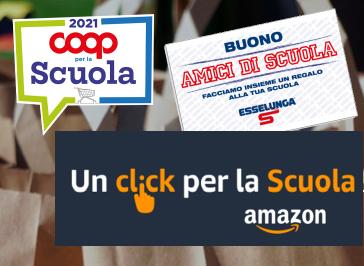 Punti Scuola – Coop -Esselunga-Amazon