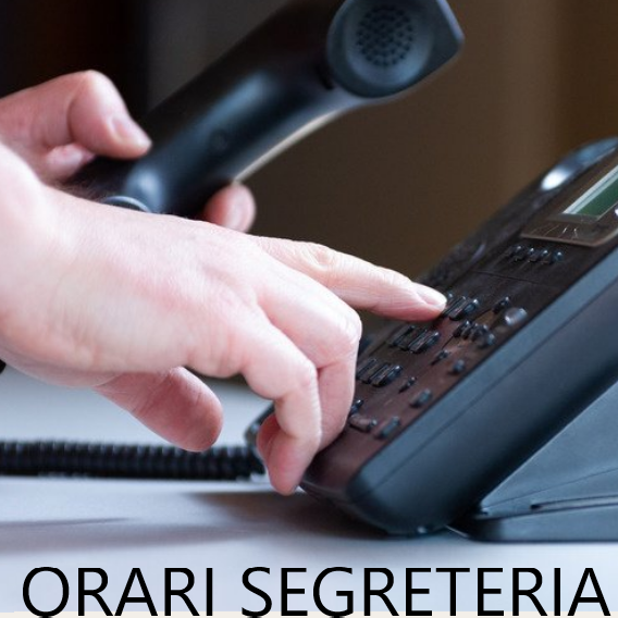 Orari ricevimento telefonico
