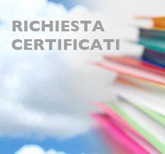 Modalità di richiesta certificati